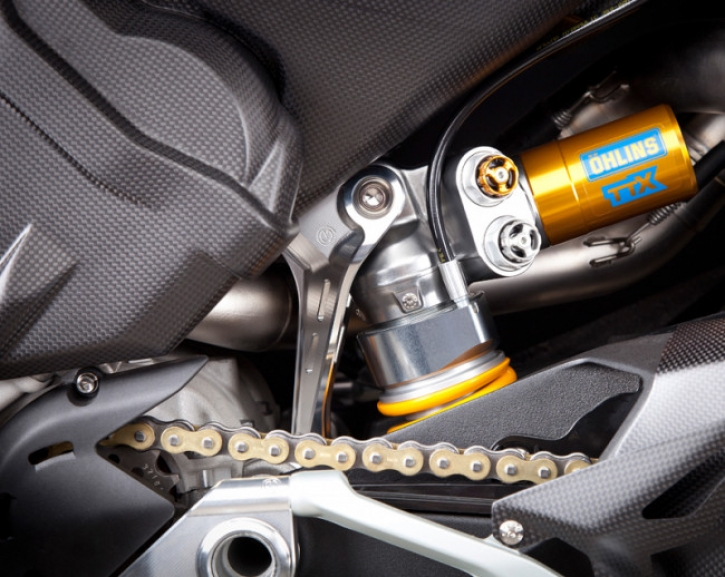 Moto Corse® rear shock support