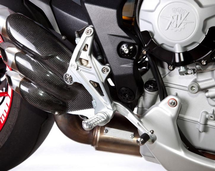 MV Agusta Rivale 800 rear set