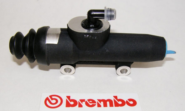 Brembo rear master cylinder PS 13, with reservoir, silver