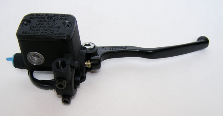 Brembo Master brake cylinder, PS15 with reservoir black