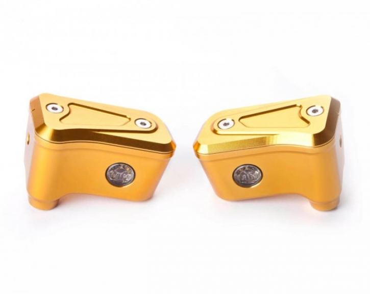 Moto Corse fluid tank kit cnc for Brembo RCS Naked gold