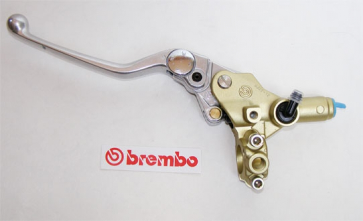 Brembo brake master cylinder PSC 12, without reservoir, gold
