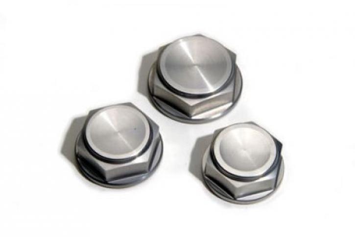 tope yoke nuts closed - aluminum