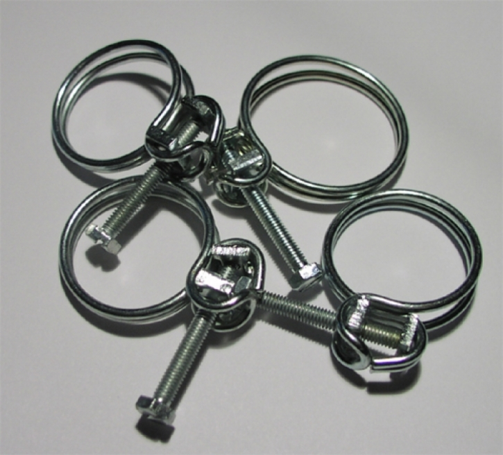 double wire clamp