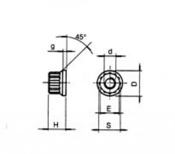DADI P 12 - M 10 x 1.25