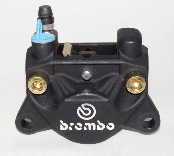 Brembo rear caliper P32F, black left