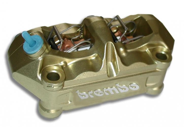 Brembo Radial - Bremszange P4 34/34, gold, 100 mm, links