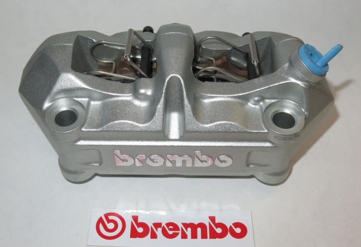 Brembo Radial - Bremszange P4 34/34, silber, 100 mm, rechts