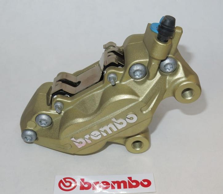 Brembo Bremszange P4 30/34F, gold, rechts