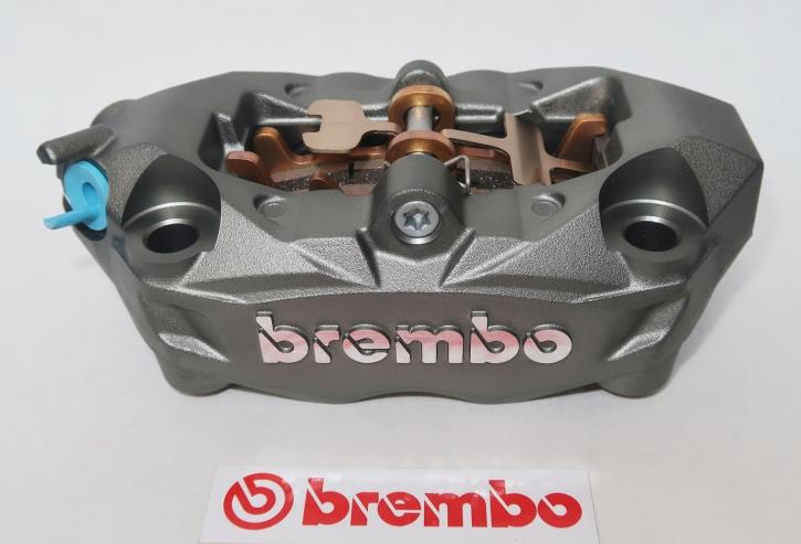 Brembo Bremszange, Radial M4 32 Monoblock, Titanium, links