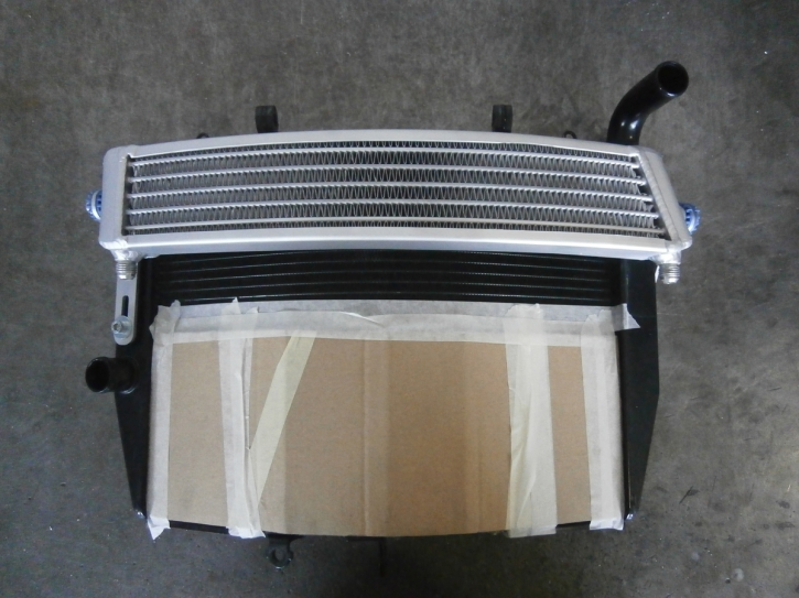 radiator oil CBR 600 07-10 race