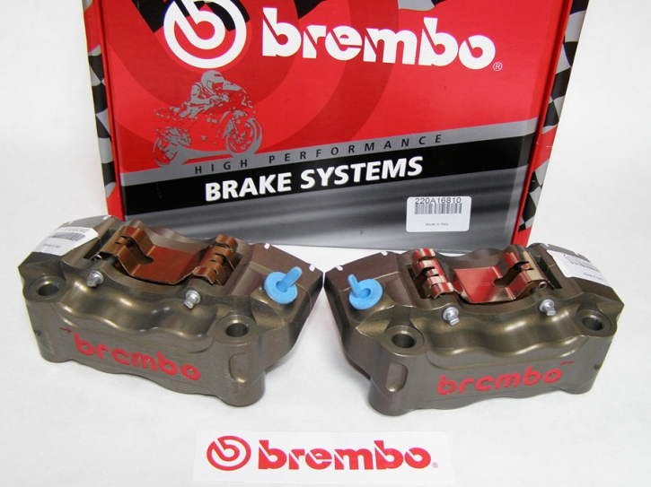 Brembo Radial Bremszangen CNC P4 30/34, 108 mm Kit li/re