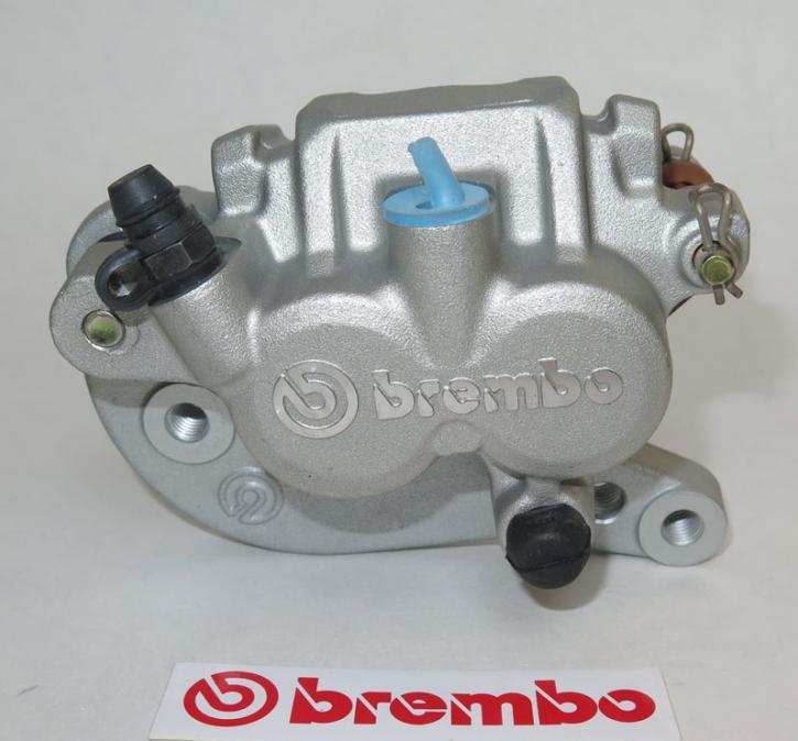 Brembo Bremszange, schwimmend, P2 28F, silber