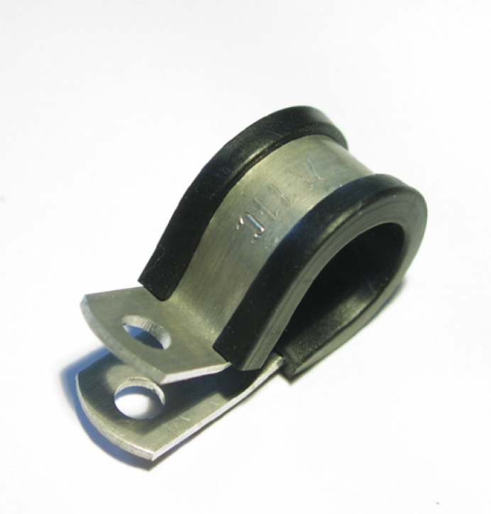 Aluminium Halteschelle D-04