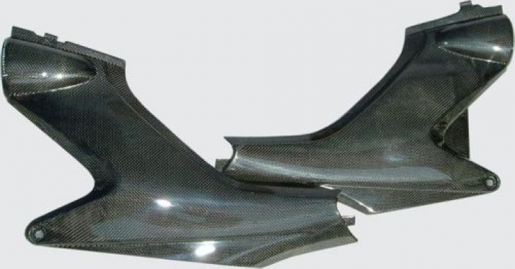 Carbon sidepanels Hornet (03-06)