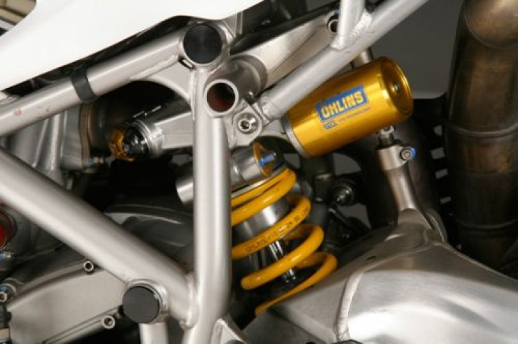 NCR Öhlins TTX rear shock