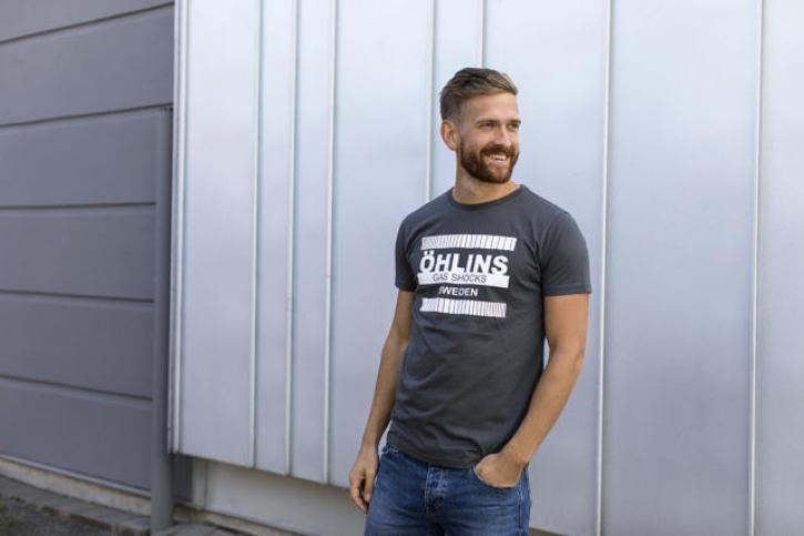 "T - Shirt "" retro ""graphite"