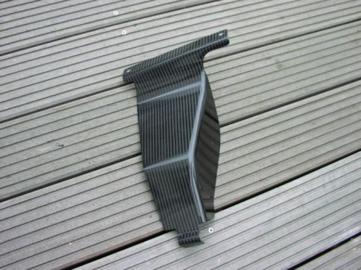 Carbon silencer heat protection for CBR 600 RR 03-04