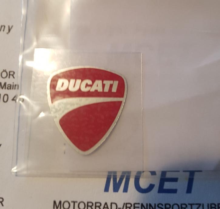 Ducati Logo für Vorderradkotflügel