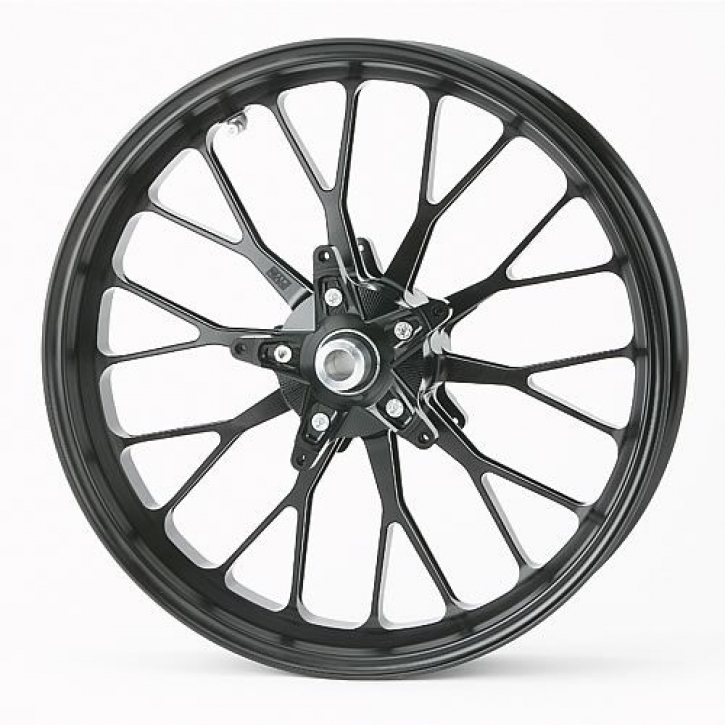PVM 10 Y-spoken wheel set Aluminium