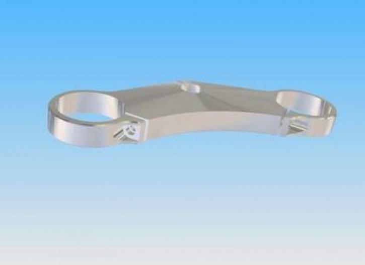 Gabelbrücke oben 20 mm für Hochlenker universal