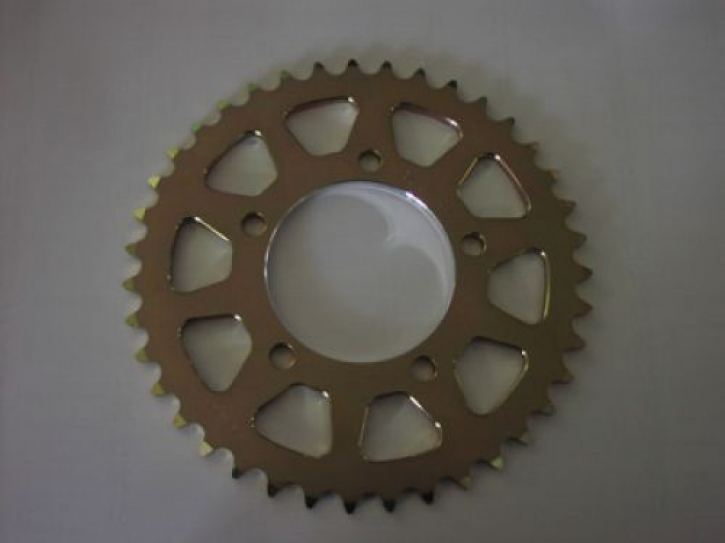 aluminum sprocket change to 520 pitch for S 1000 RR 10