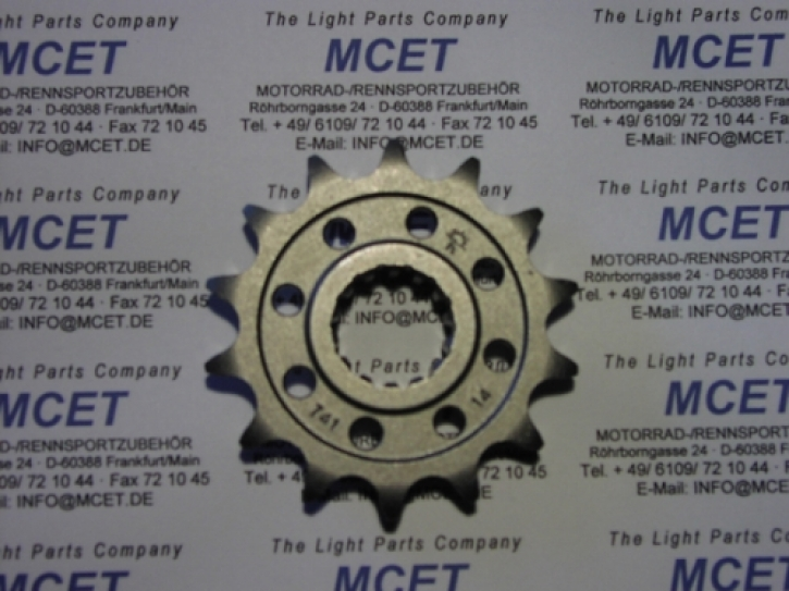 front sprocket 525 pitch supersport for 848 / 1098 / 1198