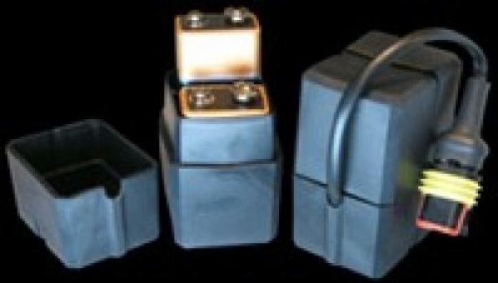 externer Batteriekasten 2*9Volt Block