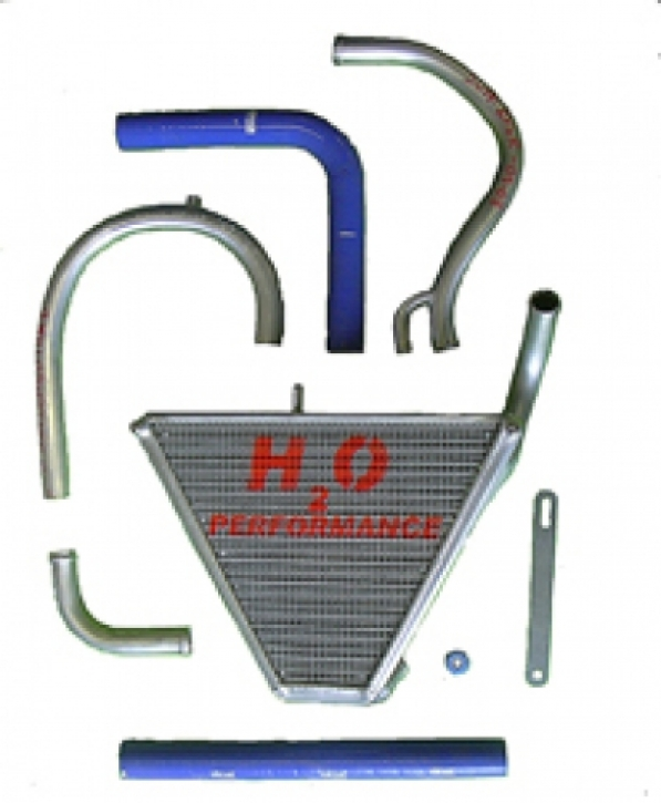 radiator ZX 6 R 05-06 extension