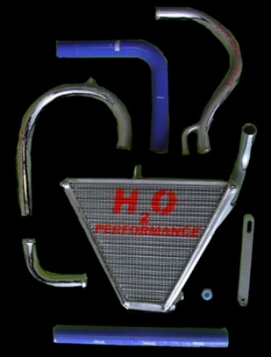 radiator ZX 10 R 08-10 extension