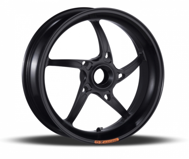 OZ Racing 5 spoken aluminum wheels Piega R singleside aluminium
