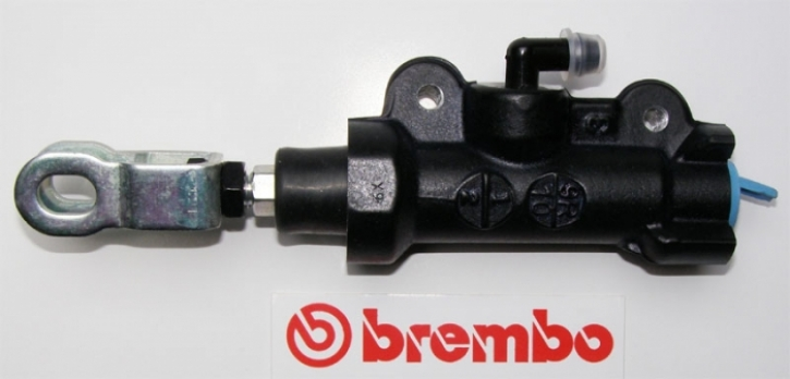 Brembo rear master cylinder PS 12.7E, without reservoir, black