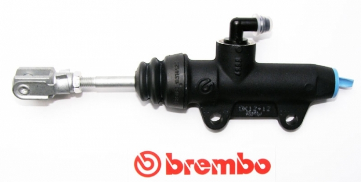 Brembo rear master cylinder PS 12C, without reservoir, black