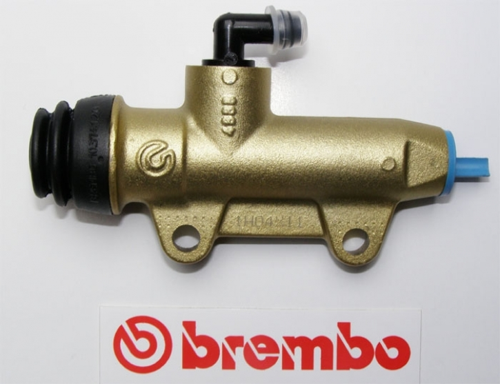 Brembo rear master cylinder PS 11C, without reservoir, gold