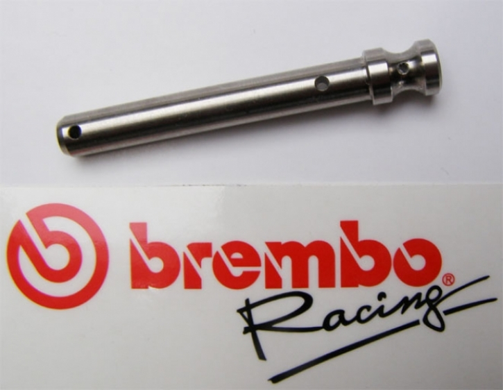 Brembo Brake Pad Spindle, Titanium for Racing Calipers