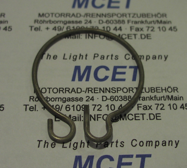 safety clip rear nut Ducati M33