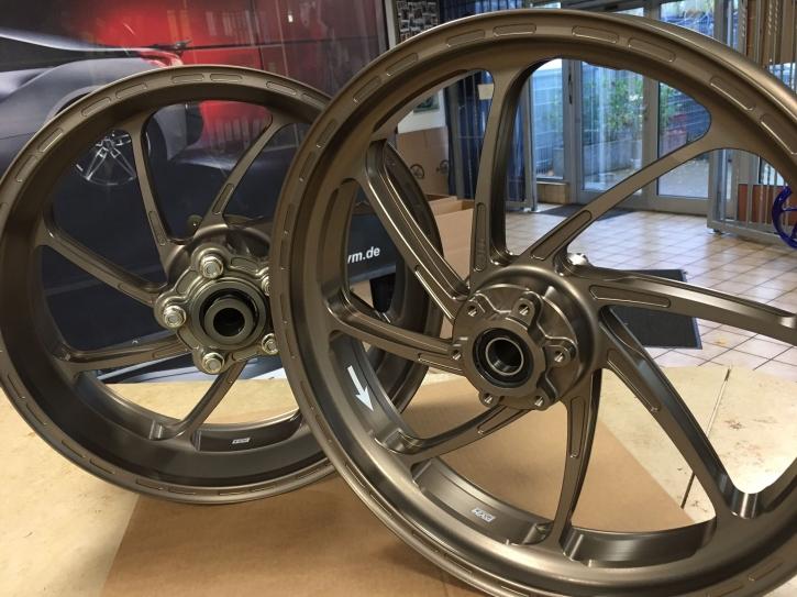 PVM 8 - Speichen Radsatz Aluminium