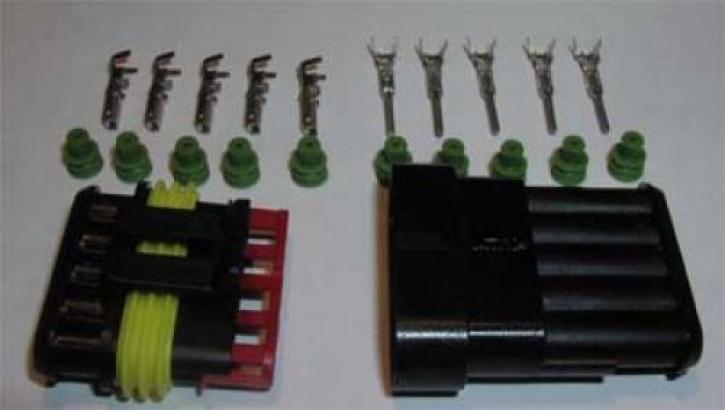 plug set AMP 5