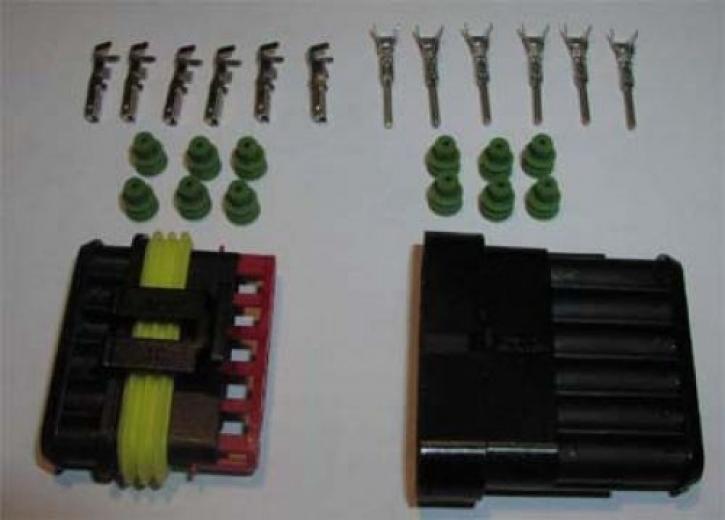 plug set AMP 6