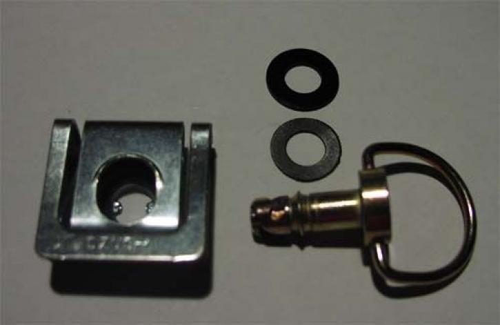 quick fastener with handle steel compl.