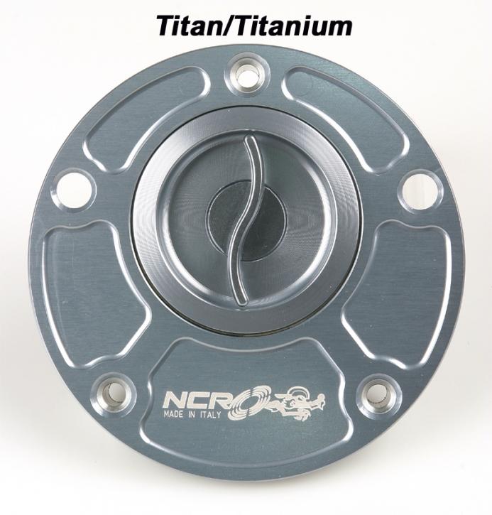 NCR fuel cap aluminium Ducati titan color