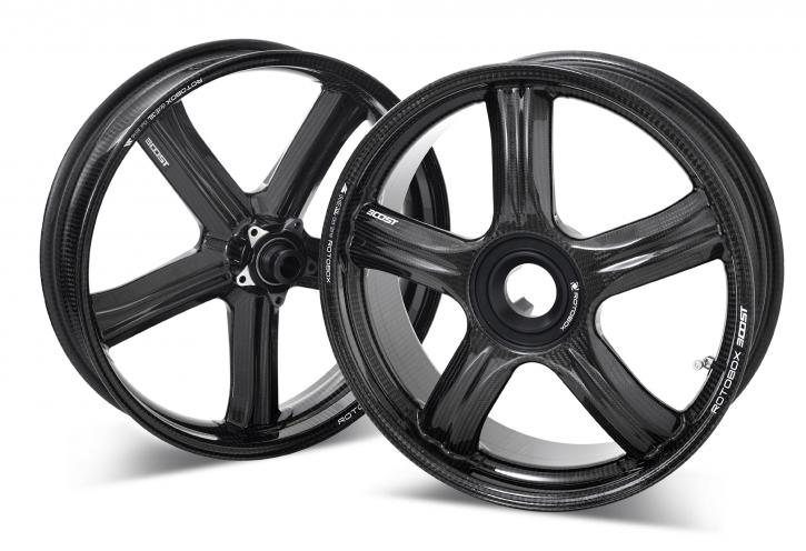 Rotobox® carbon wheel for single side swingarm