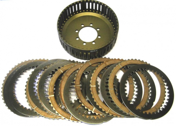 EVR upgrade kit for Ducati 1198 OEM clutch with 48 teeth basket