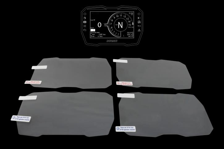 Dashboard Schutzfolie für Ducati Panigale V4 / V4S