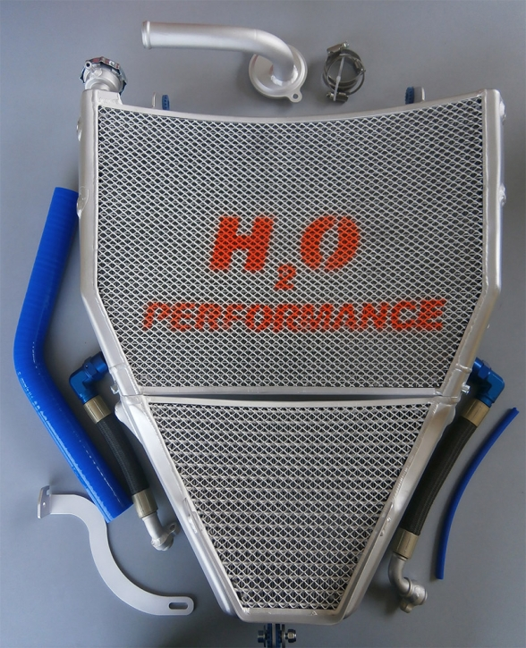 water- oil radiator YZF R 1 M 2015-