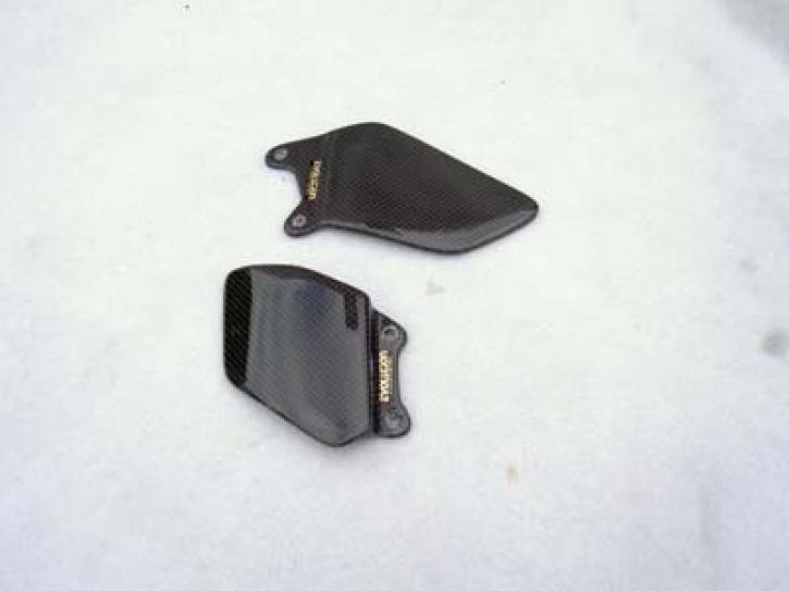 carbon heel plates for CBR 1000 RR 04-05