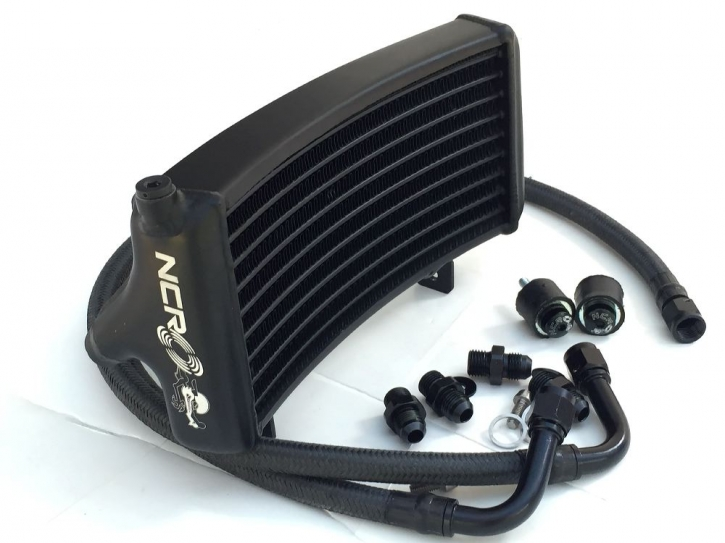 NCR oil radiator kit new style black