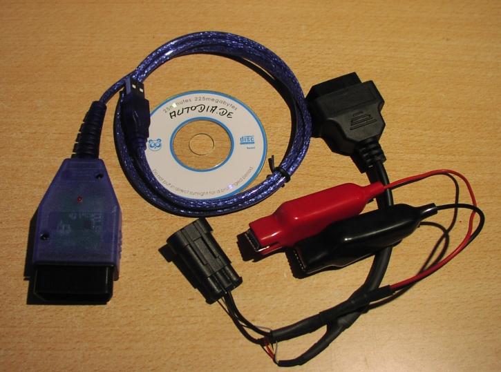OBD 2 Interface USB für Ducati
