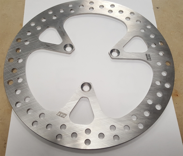 PVM rear brake disc 3 holes solid
