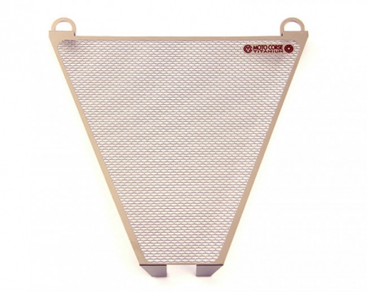 Moto Corse® titanium oil radiator protection for Ducati 899/1199/1299